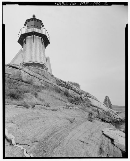 Perkin's Island Light Station, East side of Kennebec River just south of Georgetown Road & opposite Parker Head, Georgetown, Sagadahoc County, ME