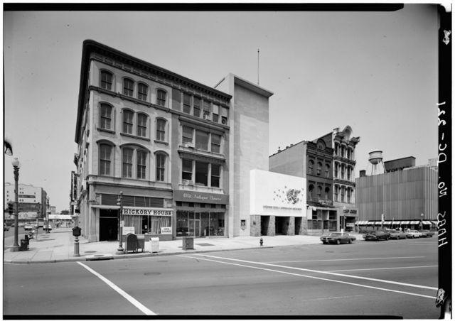 Perry Building, 819-821 Market Space Northwest, Square 408, Corner Lot 805, Washington, District of Columbia, DC