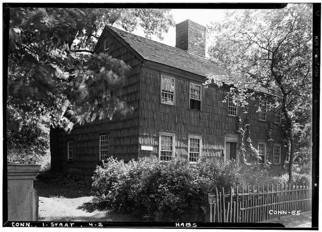 Perry-Fairchild Homestead, West Broad Street, Stratford, Fairfield County, CT