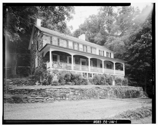 Peter Treible House, River Road (Smithfield Township), Shawnee on Delaware, Monroe County, PA