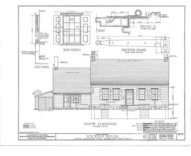 Peter Wyckoff House, 5902 Canarsie Lane, Brooklyn, Kings County, NY