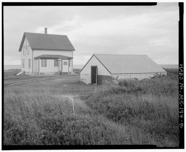 Petit Manan Light Station, 2.5 miles south of Petit Manan Point, Milbridge, Washington County, ME