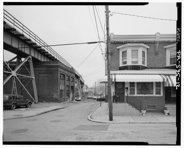 Philadelphia & Western Railway, Bridgeport Bridge, Spanning Schulykill River, west of DeKalb Street, Bridgeport, Montgomery County, PA