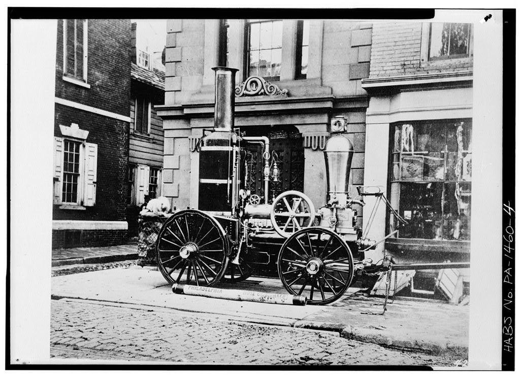 Philadelphia Hose Company No. 1, Seventh & Filbert Streets, Philadelphia, Philadelphia County, PA