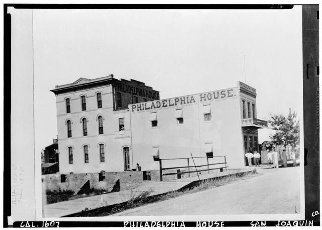 Philadephia House, Stockton, San Joaquin County, CA