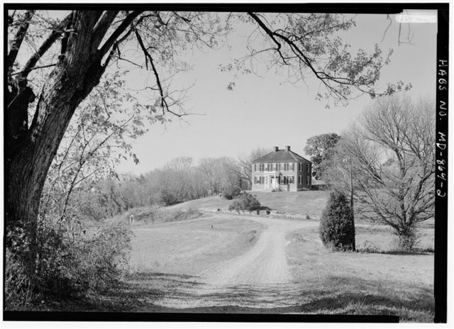 Philip Pry Farm, House, Boonsboro Pike (SR 34), Sharpsburg, Washington County, MD