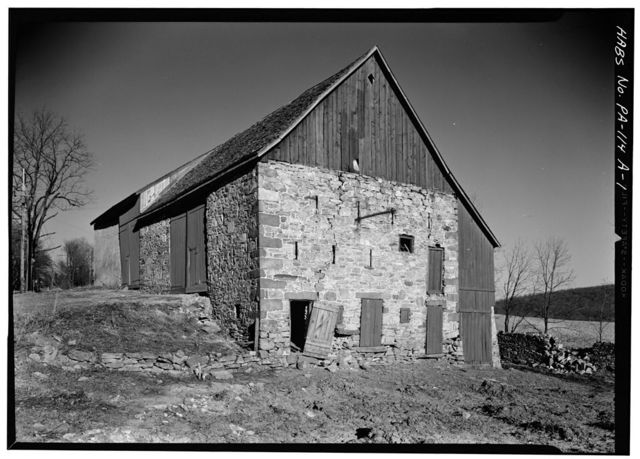 Phillip Rogers Barn, State Route 23 (Warwick Township), Knauertown, Chester County, PA