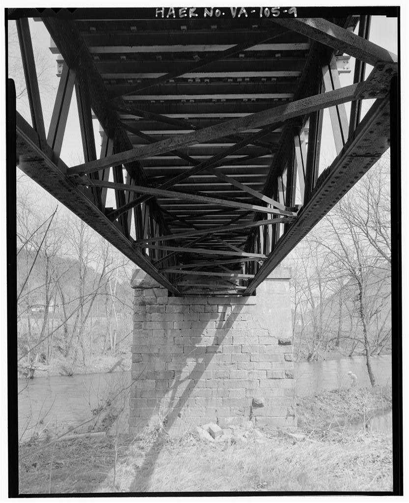 Phoenix Bridge, Spanning Craig Creek at State Route 685, Eagle Rock, Botetourt County, VA