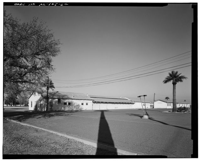 Phoenix Indian School, Dairy-Milking Shed, Northeast Corner of Central Avenue & Indian School Road, Phoenix, Maricopa County, AZ