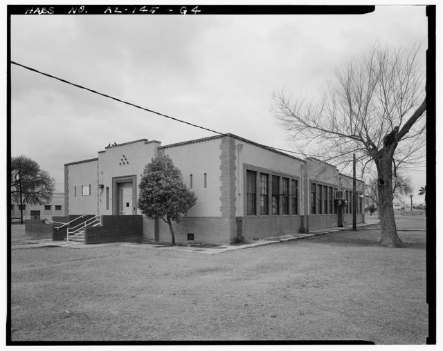 Phoenix Indian School, Elementary School, Northeast Corner of Central Avenue & Indian School Road, Phoenix, Maricopa County, AZ