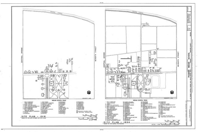 Phoenix Indian School, Northeast Corner of Central Avenue & Indian School Road, Phoenix, Maricopa County, AZ