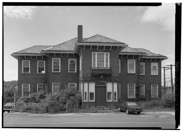 Phoenix Iron Company, Administration Building, Bridge Street at Church Avenue, Phoenixville, Chester County, PA