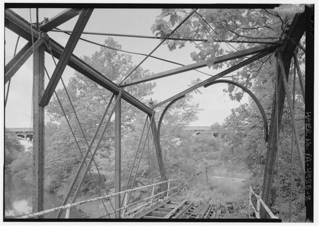 Phoenix Iron Company, French Creek Bridge, Spanning French Creek between Gay Street & Main Street, Phoenixville, Chester County, PA