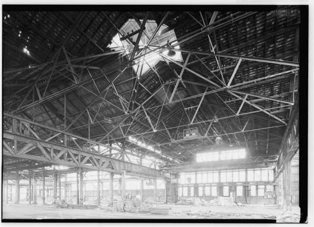 Phoenix Iron Company, Girder Shop No. 6, North of French Creek, west of Gay Street, Phoenixville, Chester County, PA
