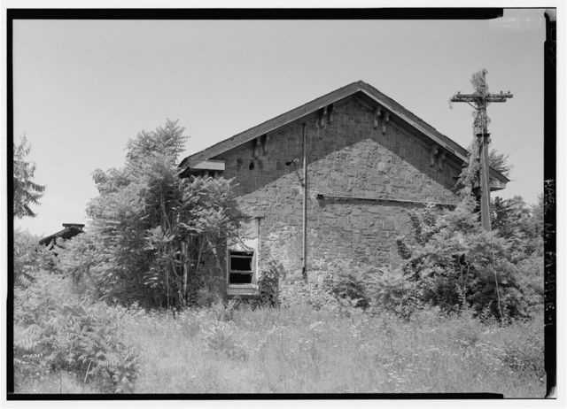 Phoenix Iron Company, Pump House, Between Rolling Mill & Girder Shop No. 6, Phoenixville, Chester County, PA