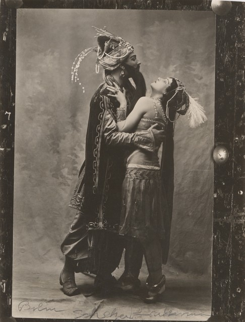 Photograph of Adolph Bolm and Tamara Karsavina in Schéhérazade, n.d.