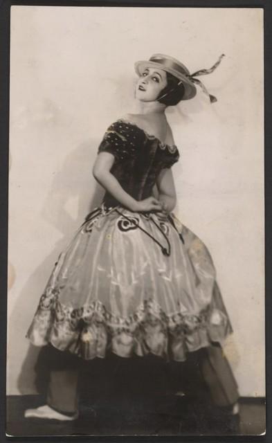 Photograph of Alexandra Danilova in The Triumph of Neptune, n.d., Joan Craven