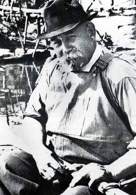 Photograph of Captain Pearl R. Nye Seated