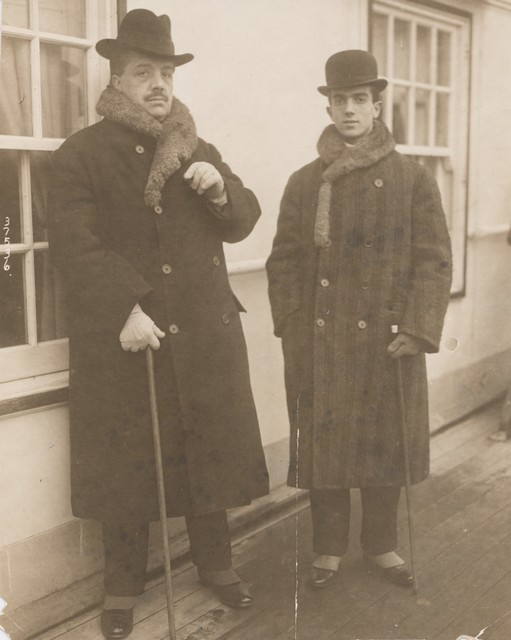Photograph of Serge Diaghilev and Léonide Massine, n.d.