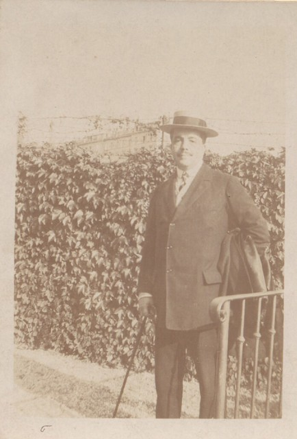 Photograph of Serge Diaghilev, n.d.