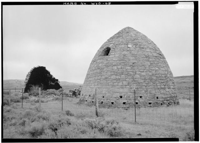 Piedmont Charcoal Kilns, Fort Bridger vicinity, Piedmont, Uinta County, WY