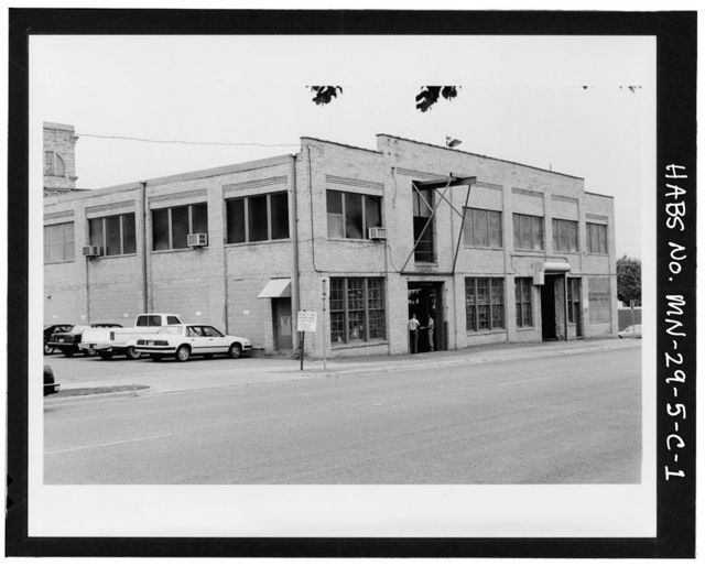 Pillsbury Milling Complex, Machine Shop, 300-310 Second Street, Southeast, Minneapolis, Hennepin County, MN