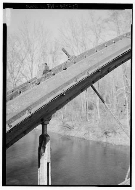 Pine Creek Bridge, Spanning Pine Creek at Messerall Road (Township Route 993), Titusville, Crawford County, PA