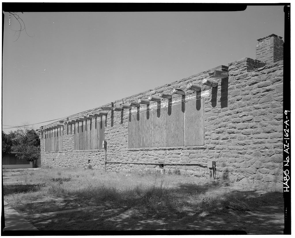 Pinon Boarding School, Classroom Building, Navajo Route 41, North of Navajo Route 4, Pinon, Navajo County, AZ