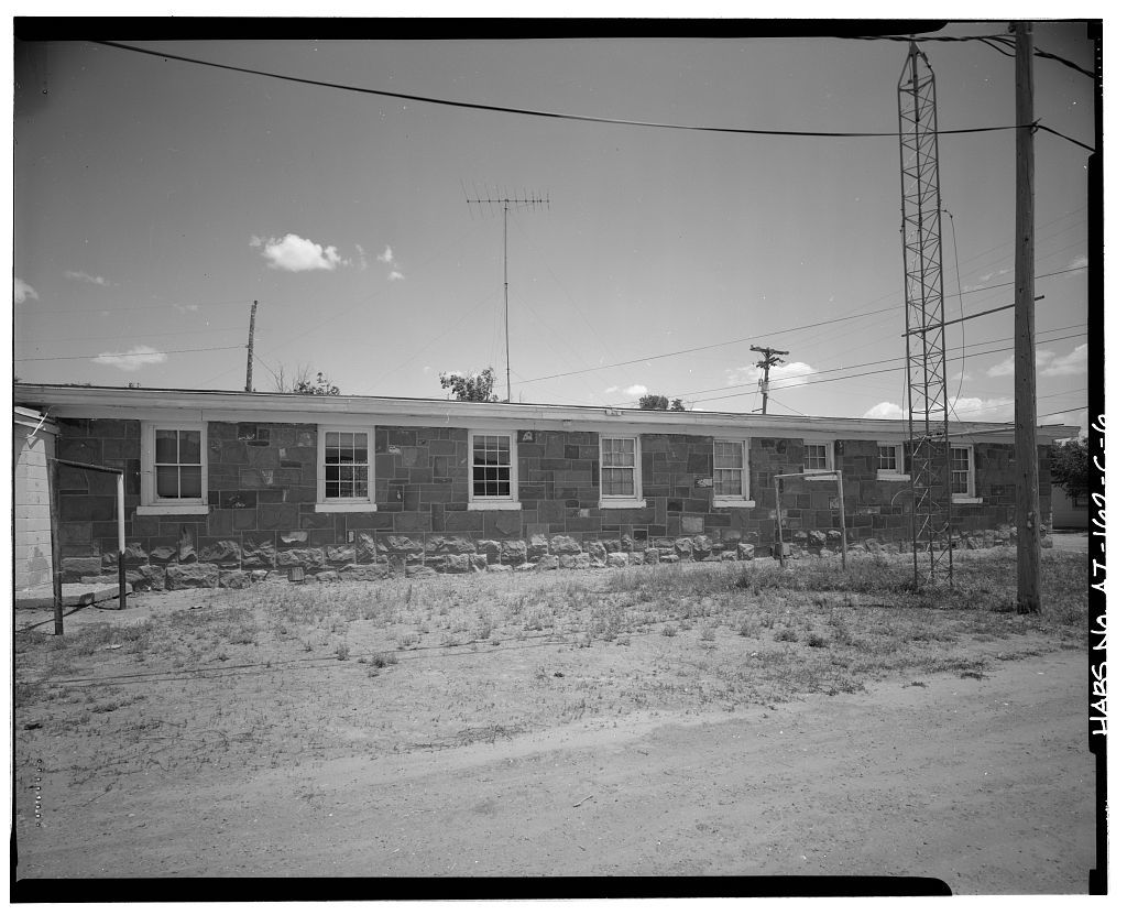 Pinon Boarding School, Dormitories, Navajo Route 41, North of Navajo Route 4, Pinon, Navajo County, AZ