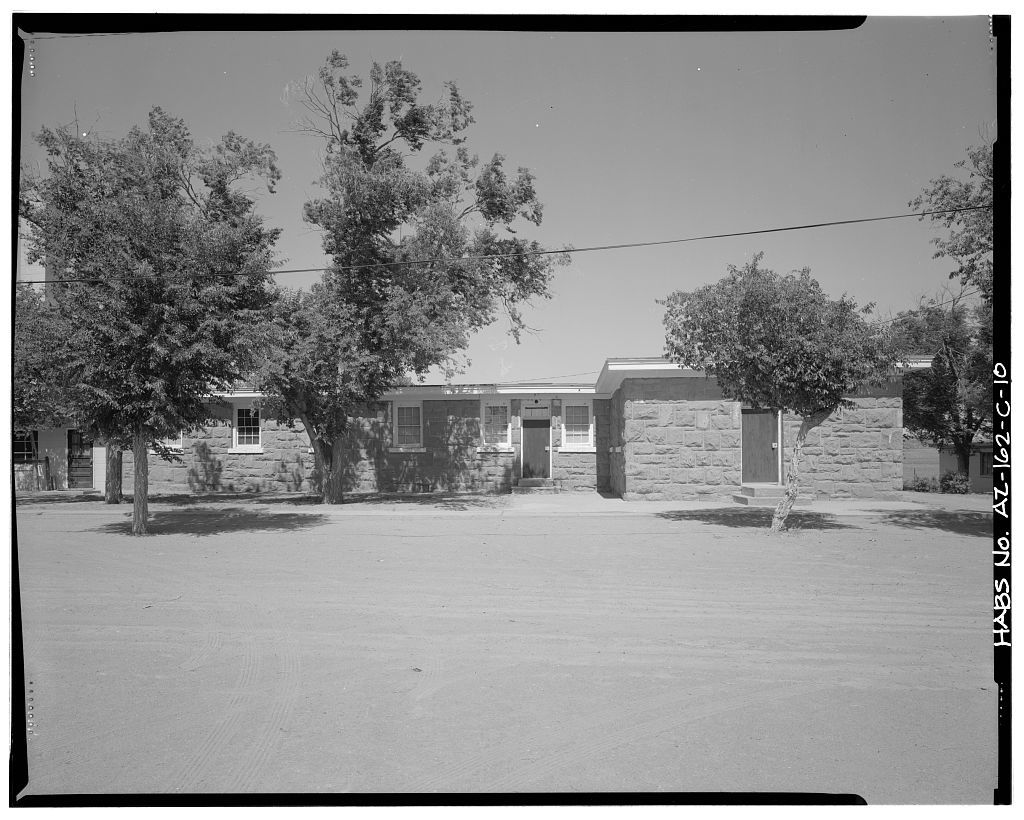 Pinon Boarding School, Dormitories, Navajo Route 41, North of Navajo Route 4, Pinon, Navajo County, AZ