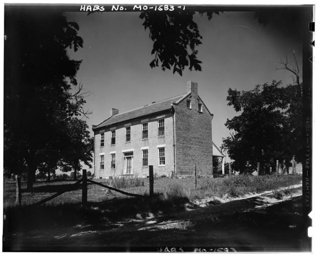 Pitman House, Cottleville, St. Charles County, MO