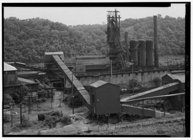 Pittsburgh Steel Company, Monessen Works, Blast Furnace No. 3, Donner Avenue, Monessen, Westmoreland County, PA