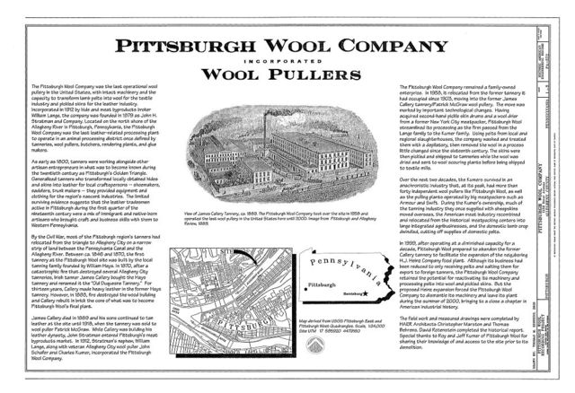 Pittsburgh Wool Company, 1230 River Avenue, Pittsburgh, Allegheny County, PA