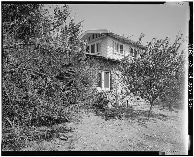 Pitzer Ranch, Foreman's Residence, 926 East Base Line Road, Claremont, Los Angeles County, CA