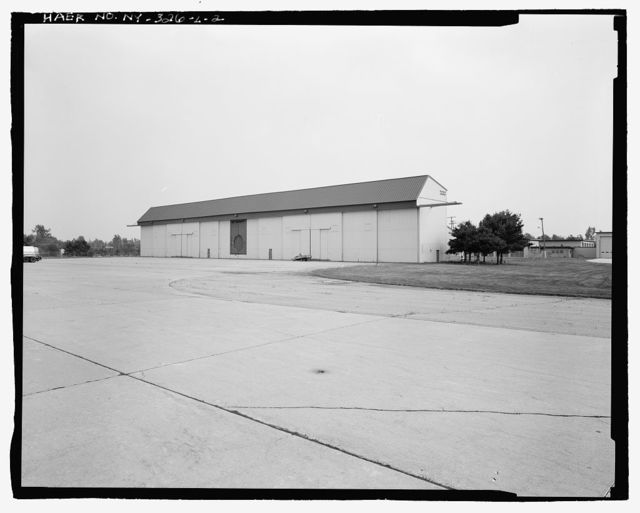 Plattsburgh Air Force Base, Aircraft Maintenance Dock, Alabama Avenue at Arkansas Street, Plattsburgh, Clinton County, NY