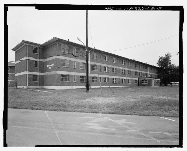 Plattsburgh Air Force Base, Airmen Dormitory, New York Road, Plattsburgh, Clinton County, NY