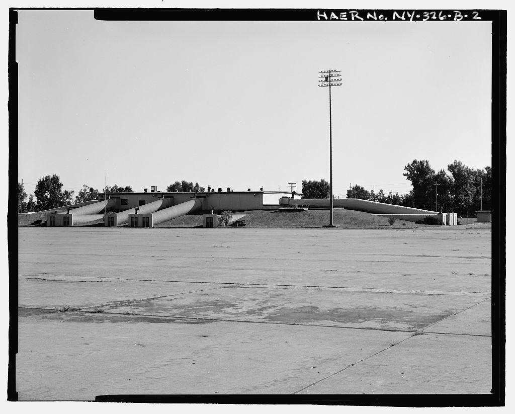 Plattsburgh Air Force Base, Crew Readiness Building, Perimeter Road & Florida Street, Plattsburgh, Clinton County, NY