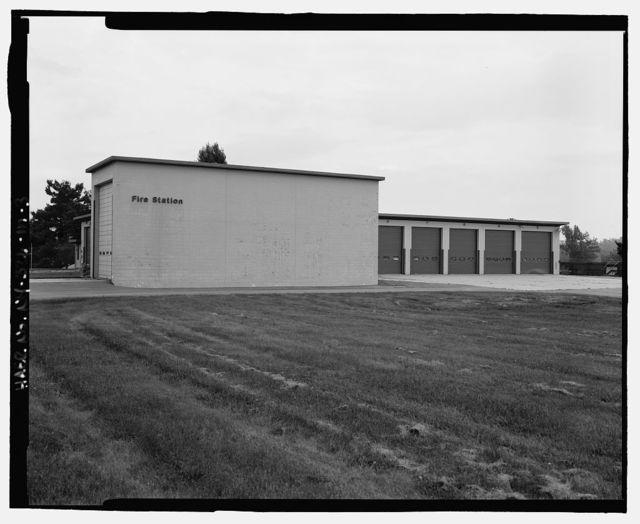 Plattsburgh Air Force Base, Flightline Fire Station, Alabama Avenue, Plattsburgh, Clinton County, NY