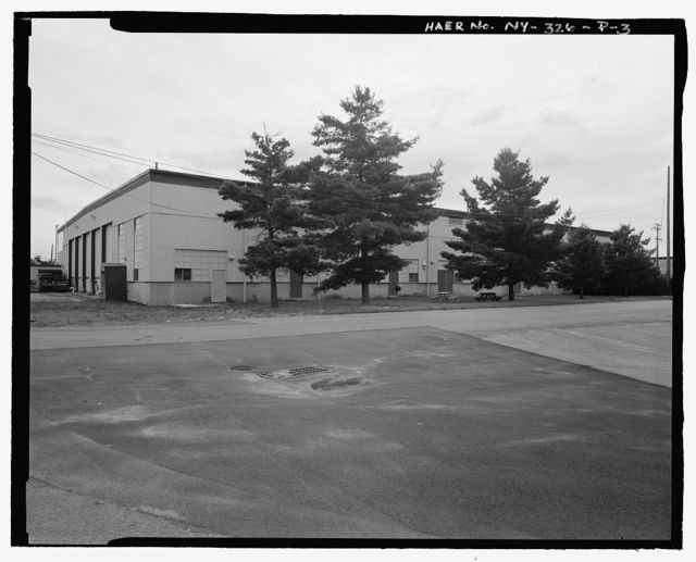 Plattsburgh Air Force Base, Jet Engine Inspection & Maintenance Shop, Arizona Avenue, Plattsburgh, Clinton County, NY