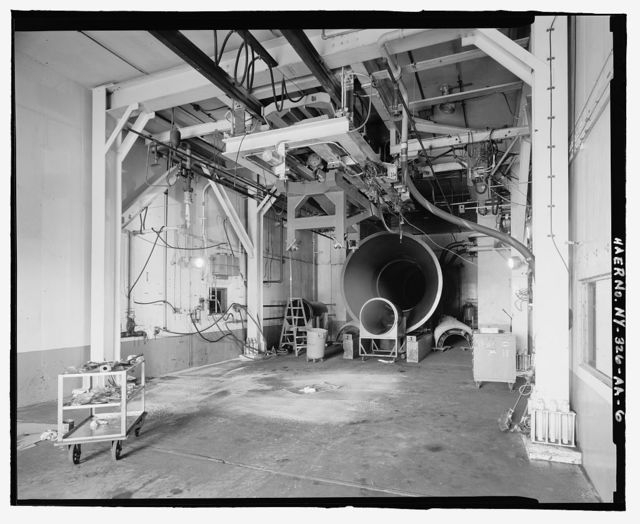 Plattsburgh Air Force Base, Jet Engine Test Cell, Colorado Street, Plattsburgh, Clinton County, NY