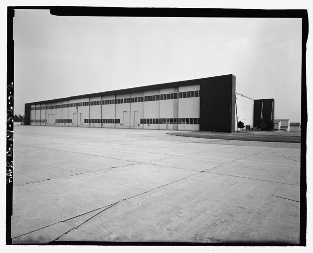 Plattsburgh Air Force Base, Maintenance Hangar, Arizona Avenue between California & Connecticut Streets, Plattsburgh, Clinton County, NY