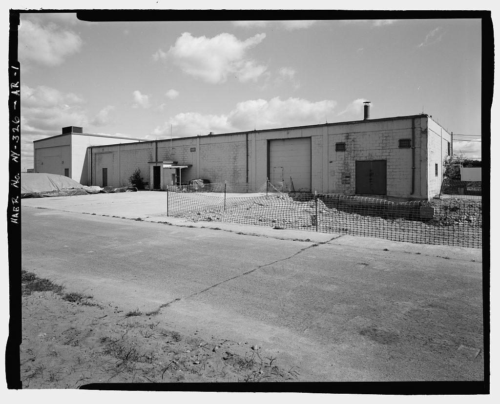 Plattsburgh Air Force Base, Missile Assembly Shop, Off Perimeter Road in Weapons Storage Area, Plattsburgh, Clinton County, NY