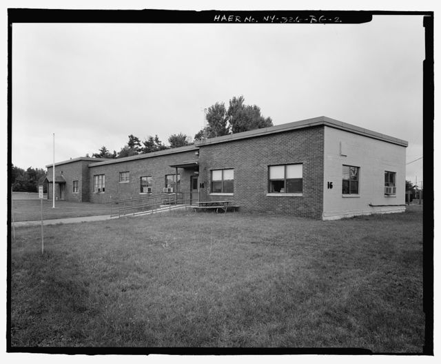 Plattsburgh Air Force Base, Physiological Training Building, Connecticut Road, Plattsburgh, Clinton County, NY