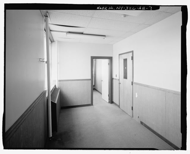 Plattsburgh Air Force Base, Security Police Central Control Building, Delaware Street, Plattsburgh, Clinton County, NY