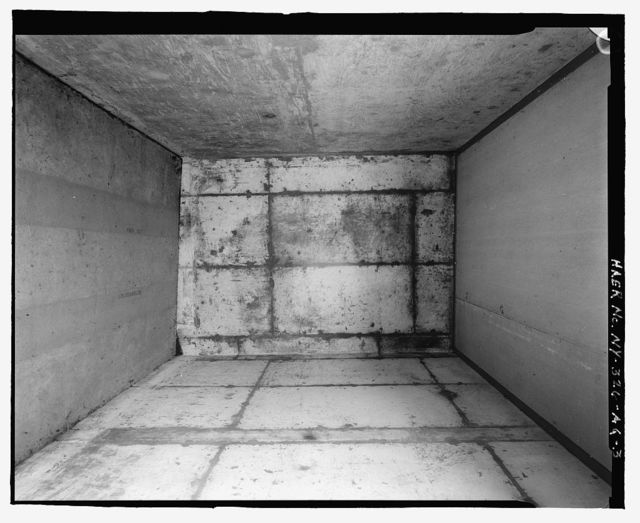 Plattsburgh Air Force Base, Segregated Magazine Storage Building, Off Perimeter Road in Weapons Storage Area, Plattsburgh, Clinton County, NY
