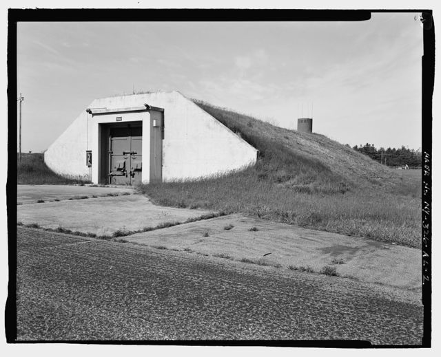 Plattsburgh Air Force Base, Storage Igloo, Off Perimeter Road in Weapons Storage Area, Plattsburgh, Clinton County, NY