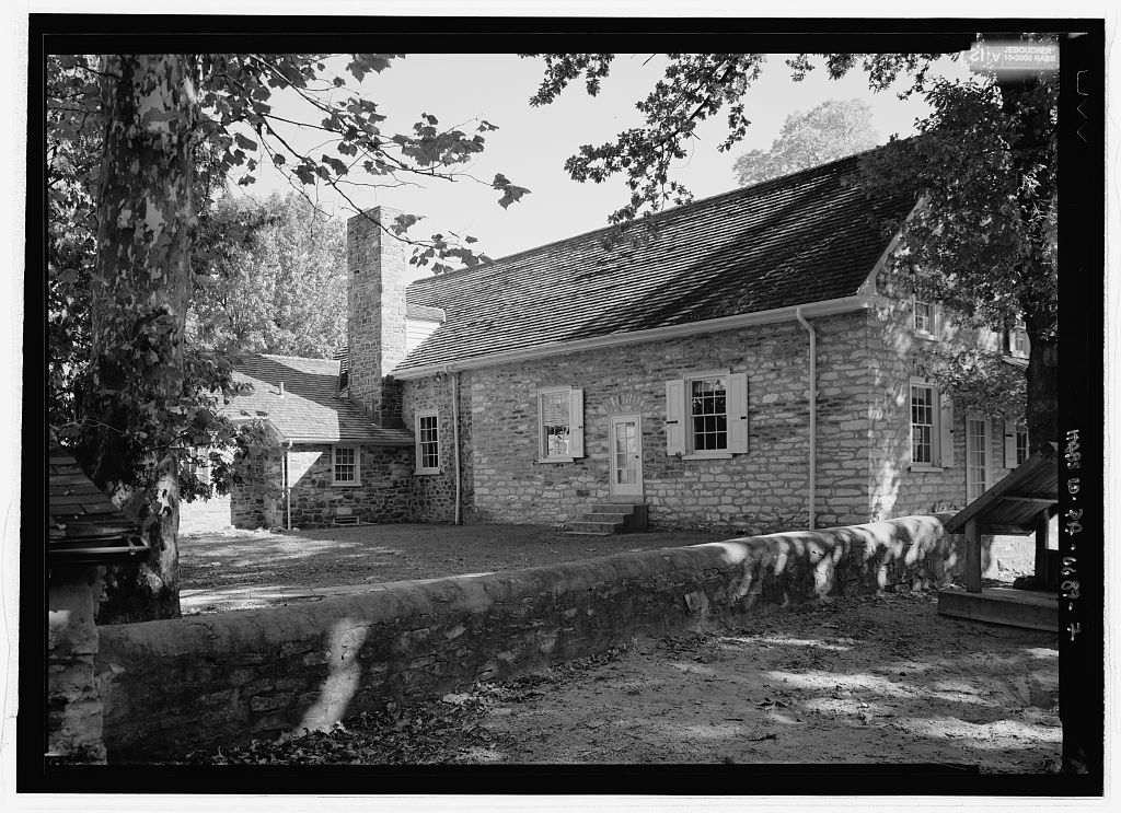 Plymouth Friends Meeting House, Corner of Germantown & Butler Pikes, Plymouth Meeting, Montgomery County, PA