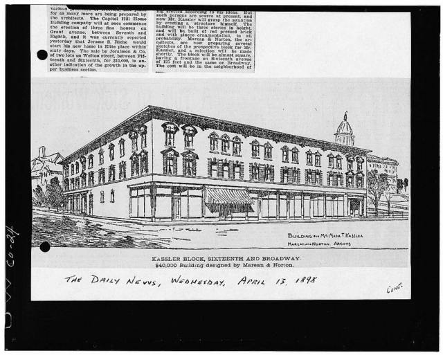 Plymouth Place, 1560-1572 Broadway, Denver, Denver County, CO