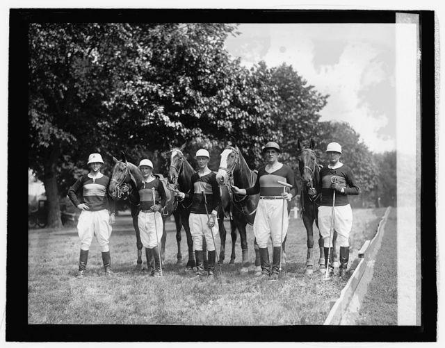 Polo team of 16th Field Artillery, 5/27/26
