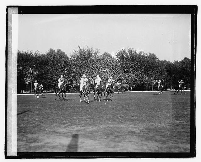 Polo War Dept. Greens & Camp Grant, 10/10/21